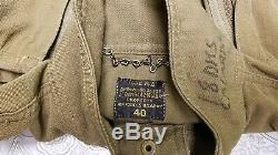 WW2 US Army Air Force Flying Tiger Flightsuit Coverall with 7 Working Zippers