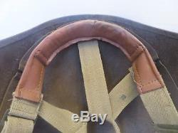 WW2 US Army Air Force M-3 Flak Helmet Complete With Liner & Chin Strap