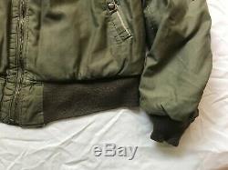 WW2 US Army Air Force issue B-15 flight jacket Rough Wear size 38