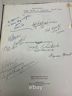 WW2 US Army Air Forces 460th Bomb Group Unit History Named WithSignatures
