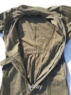 WW2 US Army Air Forces A-4 Flight Suit Size 42 Excellent Named