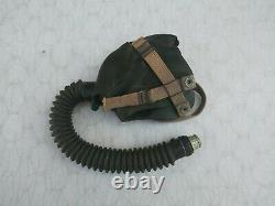 WW2 US Army Air Forces Acushnet A-10A Oxygen Mask Size Medium Dated 4/44