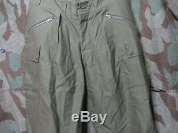 WW2 US Army M1942 Type II 10th Mountain Trousers Pants FSS USGI Vet Waist 34