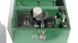 WW2 USAAF Army Air Force Boeing B-17 Bomber Navigator Type A-7 Sextant with Case