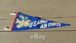 WW2 USAAF US Army Air Force South Plains Flying School Lubbock Bug Bunny Pennant