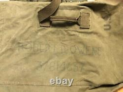 WWII Army Air Force A-11 flight pants, heated glove, A-6 wool boots, leather str