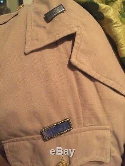 WWII Army Air Force CBI bush jacket
