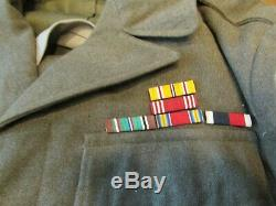 WWII Corporal wool jacket dress pilot uniform US Army 9th Air force Corp USAF