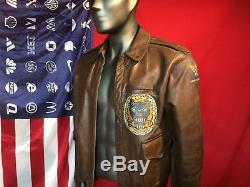 WWII Eastman A-2 a2 AAF Jacket Army Air Forces size 40 Nice