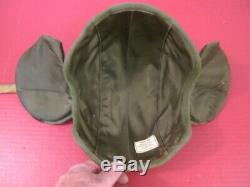 WWII Era USAAF Army Air Force M4A2 Flak Helmet Complete withChin Strap Nice