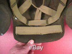 WWII Era USAAF Army Air Force M5 Flak Helmet Complete withSuspension VERY NICE