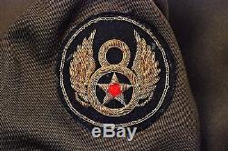 WWII U. S. ARMY AIR CORPS CBI/8th AIR FORCE OFFICERS UNIFORM JACKET