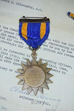 WWII U. S. Army Air Corps Named Air Medal Group B-17 12th Air Force 32nd 301st BG
