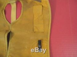 WWII US AAF Army Air Force Mae West Inflatable Life Preserver Vest Type LP-31