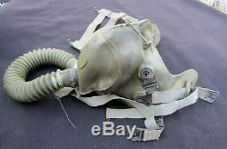 WWII US ARMY AIR FORCE USAAF A-9 Short Oxygen Mask with Juliet Harness. 1942