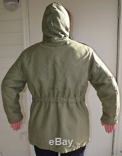 WWII US ARMY AIR FORCES TYPE B-11 PARKA SIZE 40 printed AAF shoulderpatch ISSUED