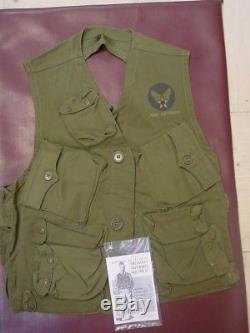 WWII US Army Air Force Pilots Survival Emergency Sustenance Vest Type C-1 Rare