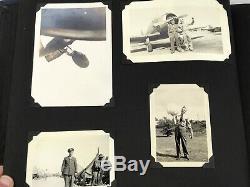 WWII US Army Air Forces Randolph Field Airman's Photo Album 109 Photos