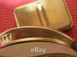 WWII USAAF Army Air Force Type AN6530 green lense flight goggles with extra lenses