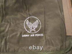 WWII USAAF Army Air Force Type F-3 Electric Flying Suit (Jacket & Pants Set) NOS