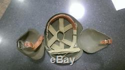 WWII / WW2 U. S. Army Air Forces, U. S. A. A. F, M-5 Aircrew Helmet, M-5 Flak Helmet