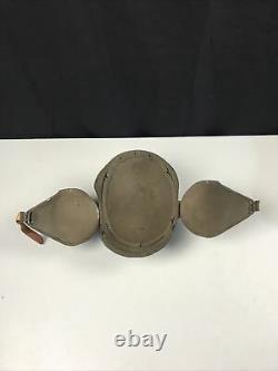 WWII WW2 US ARMY AAF Flack Helmet Bomber Gunner Air Force Corps Tear Drop Style