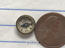 WWII WW2 US Marines Army Air Force Military ESCAPE & EVASION MINIATURE COMPASS