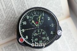 Watch Aviation AChS-1 Soviet Military Air Force Clock USSR Vintage Soviet