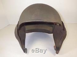 Wwii Us Army Air Force Usaaf M-5 Flyers Flak Helmet-original In Good Condition