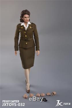 1/6 Us Army Air Force Femme Officier Peggy Jxtoys En Stock USA