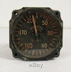 1940 Vintage Calibre Avion Vitesse Aérodynamique U. S. Armée Armée De L'air Des Pièces D'avion Seconde Guerre Mondiale