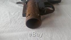 1942 Seconde Guerre Mondiale Armée De L'air Américaine M-8 Pyrotechnics Piston Pistolet À Flare Evvc Eureka Vacumn