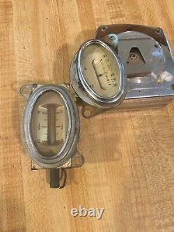 33 34 Ford 1933 1934 Roadster Gas Amp Gauge Trog Scta Nice Originals Correspondants
