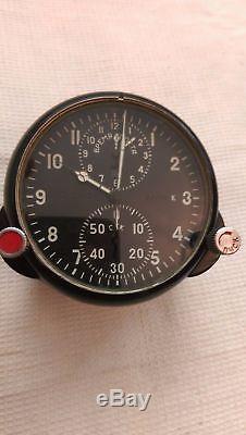 Achs-1 Aéronef Soviétique Horloge Militaire Cockpit Mig Armée Russe De L'urss -1