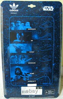 Adidas Star Wars Yoda Zx 700 Chaussures De Bateau 2010 Brown Green Khaki Noir Nouveau Hommes 10