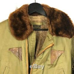Air Originale Wwii Arnoff Us Army Force De B-15a Flight Jacket