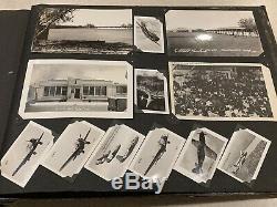 Album Photo Original Original De La B-17 De L'armée De L'air Américaine, Plus De 200 Photos
