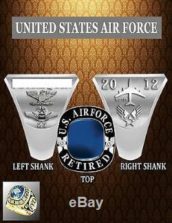 Anneaux Militaires Sur Mesure Armée, Marine, Aviation, Marine Et Anneau De La Garde Nationale