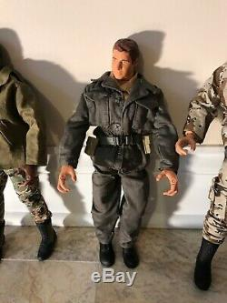 Années 90 Gi Joe Beaucoup U. S. Army Serviceman Air Force 9 Figurines D'action 12