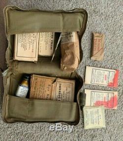 Armée Armée De L'air Aeronautic Kit Médical, Avec Des Articles Loaded Premiers Soins, Sulfanilamide