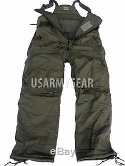 Armée De L'air Américaine Armée De Nomex Épaisse Nomex Salopette Pantalon Pour Temps Froid CVC Bib Utilisé