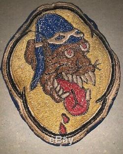 Armée De L'air D'origine Ww2 Armée Américaine 36e Escadron De Chasse Patch 5ème Air Force Usaaf