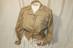 Armée De L'air De L'armée Américaine Numéro K-1 Flight Nurse Veste Femme Taille 14 Ultra Rare