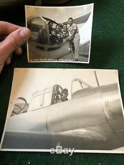 Armée De L'air De La Seconde Guerre Mondiale Armée De L'air Us Catalina Hero Groupe De Pilotes Concasseur Aviateurs Parachute