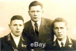 Armée De L'air Ussr Armée 1938 Année Type Pilote-technicien Badge Médaille Ultra Rare Ww 2
