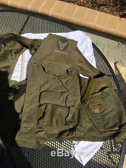 Armée De Terre De La Seconde Guerre Mondiale, Armée De L'air, Pilote D'intervention D'urgence Type C-1, Gilet De Vol D'origine