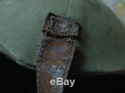 Armée Deuxième Guerre Air Forces Flak Casque M4a2 Tissu Version Couverte