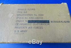 Army Air Forces Lunettes D'aviation De Type B-8 Boxed