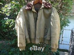 B15 Guerre Mondiale 2 Armée Armée De L'air Jacket Taille 44