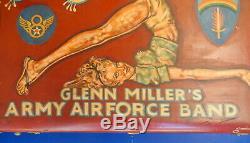 Bagages Peints À La Main De Glenn Millers Army Air Band Band